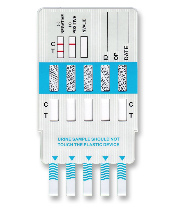 5 Panel Drug Test Doa 254 Multi Drug Test Dips