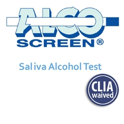 AlcoScreen Alcohol Saliva Test